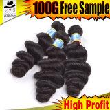 Цена по прейскуранту завода-изготовителя бразильских Unprocessed волос