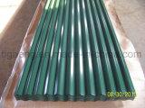 Tuile en acier galvanisée enduite par couleur facile de fabrication de qualité