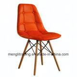 Material de PU Eames Cadeira de Botão