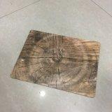 背部コルク、あなた自身のサイズおよびデザインのカスタム木製表マットは歓迎されている
