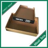 Caisse d'emballage de papier de boeuf de couvercle et de bas