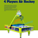 L'hockey électronique à jetons d'air folâtre l'hockey d'air de rachat de dessus de Tableau de machines d'arcade de Tableau d'hockey des machines 4players de jeu