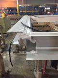 Aluminium 3 CNC van de As Dubbele Hoofd Scherpe Machine