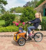 私達Kids/3車輪の子供のBakfietsのセリウムの子供または子供の貨物バイクまたは幼児の貨物バイクまたは3つの車輪の貨物バイクのための破裂音小型Bakfietsenか小型Trike