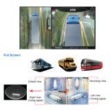 버스를 위한 방수 HD 360 주위 전망 감시 체계