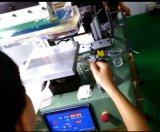 TischplattenvakuumSilk Bildschirm-Drucken-Maschine für Film/Paper/PVC/Pet