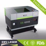 Machine de gravure de découpage de laser du CO2 Es-6040 pour le prix en bois/acrylique/Leather/MDF