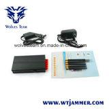 Handbediende Draagbare GPS van 5 Banden Stoorzender (GPS L1/L2/L3/L4/L5) en Stoorzender Lojack