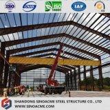 Il Ghana ha prefabbricato il gruppo di lavoro chiaro della struttura d'acciaio di qualità
