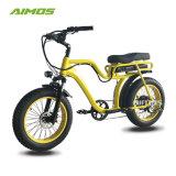 Assistée de la pédale Beach Cruiser Pneus Fat vélo électrique avec la CE a approuvé