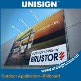 Broodje van de Banner Frontlit van de Reclame van Unisign het Openlucht & Binnen Materiële Flex