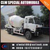 Camion mobile chaud de mélangeur concret de Dongfeng 6*4 7cbm de vente