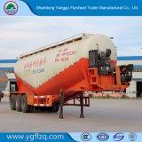 Fábrica de China/harina de trigo y maíz o arroz semi remolque cisterna de transporte con el eje 3