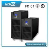 Onda senoidal pura tres fase UPS en línea apoyar el generador