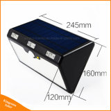 lampe solaire extérieure de mouvement de 1500lumen 66LED de lumière solaire puissante de détecteur