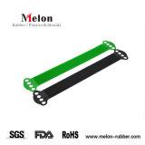 5 цветов силиконового каучука смотреть ремешок Band развертывания Watchband плечевой лямки ремня безопасности