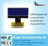Zwart-wit LCD Stn Blauw 128X32 Zwart-wit Radertje Grafische LCD