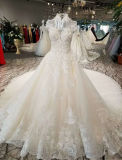 Vestido de casamento francês Sparky do laço de Tulle da chegada nova