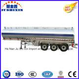 Remorque de pétrolier de certificat d'Adr/DOT, remorque en aluminium de réservoir