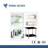 10mm freies/bereiftes ausgeglichenes Regal-Glas/Glasregal für Showeroom/Wand-Ecke