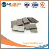 Yg6 YG8, YN8, YN10 CNC las placas de carburo de tungsteno sólidos