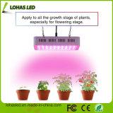 Alta potencia 300W-2000W LED de chips de doble luz crecer en todo el espectro de UV e infrarrojos de gases de efecto de la floración en interior y la creciente
