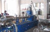 CaCO3 Color Mastbatch Fille y PE de la extrusora de fibra de vidrio Máquina de granulación