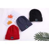 方法カスタム無線かぎ針編み音楽帽子の冬の暖かい帽子は編まれた帽子を冷却する