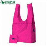 Förderung-Qualitäts-mehrfachverwendbares Polyester-faltbare NylonEinkaufstasche