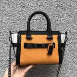 Nuovi sacchetti di spalla del cuoio di scontro di colore della borsa delle signore di stile per le donne Emg5162