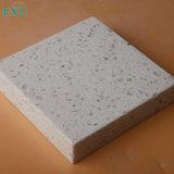 Pedra branca artificial de quartzo com microplaquetas grandes