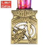 고품질 주문 옥외 기념품 금속 자전거 자전거 인종 스포츠 메달