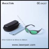 635нм, 905нм, 980нм лазерный защиты защитные очки с Laserpair