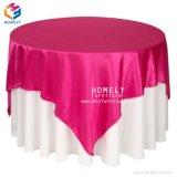 Großhandelsnizza Qualitätsrundes Polyester-Tisch-Tuch für Hochzeits-Bankett