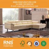 O melhor sofá moderno de venda 682# do couro genuíno de Italy