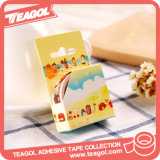 2017 DIY colorido costumbre hacer papel washi Tape