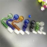 Цветастое стеклянное стекло шаров трубы Banger грохает ногти