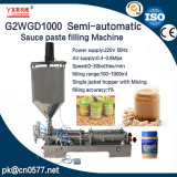 Halfautomatische Pneumatische het Vullen Machine voor het Deeg van de Boon (G2WGD1000)