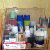 Caixa de armazenamento acrílica da composição com gavetas