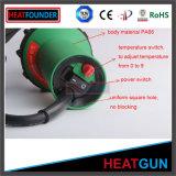 Soldador ajustable del plástico del aire caliente 1600W de la temperatura de Heatfounder