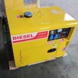 Cer-Bescheinigung-billig kleiner beweglicher leiser schalldichter Dieselgenerator 5kw