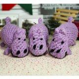 Mejor cachorro de Perro agresivo Chewers Indestructible hipopótamo juguete