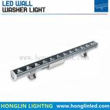 24W impermeabile RGB 3 in 1 indicatore luminoso della rondella della parete del LED