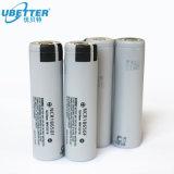 Cella di batteria dello ione di litio di Panasonic SANYO 18650 NCR18650f