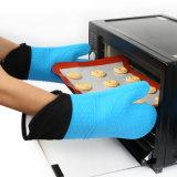 Для приготовления пищи Non-Slip Food-Grade печь вещевым ящиком для выпекания кухня термостойкий силикон Mitt
