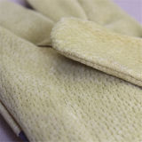 Handschoen van het Werk van de Handschoen van de Palm van het Leer van de Huid van het varken de Gespleten Volledige Werkende (3590)