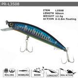 Pr-L3508 passte sich hin- und herbewegenden harte Minnow-Plastikfischen-Köder an