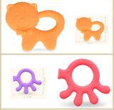 Новейшие бисфенол-А Food Grade силиконовый прорезыватель при прорезывании зубов десен малыша игрушки