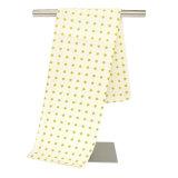 Fabricante 100 Algodão Toalha de limpeza da cozinha toalhas de chá Waffle Impresso Personalizado