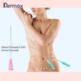 Elevador absorvente da linha de Coreia 3D Pdo com suturas farpadas